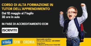"""CORSO DI ALTA FORMAZIONE IN """" TUTOR DELL' APPRENDIMENTO"""""""